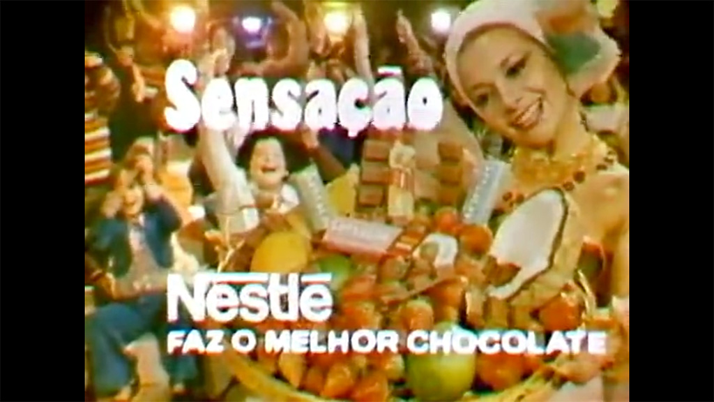 Jingle Chocolate Sensação Nestlé